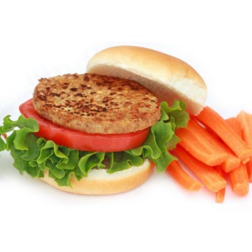 Hamburger, vegetarisch
