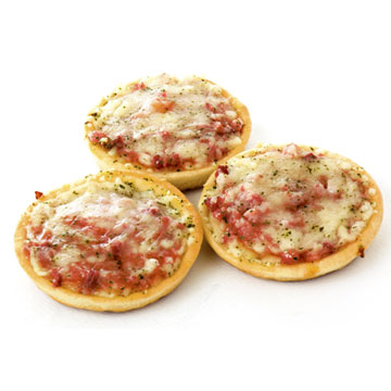 Mini pizza, gemiddeld