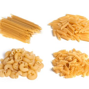 hoeveel ongekookte pasta